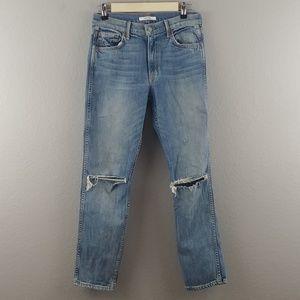 GRLFRND | distressed naomi skinny jeans